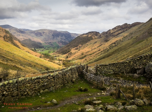 Looking Back Down Borrowdale
