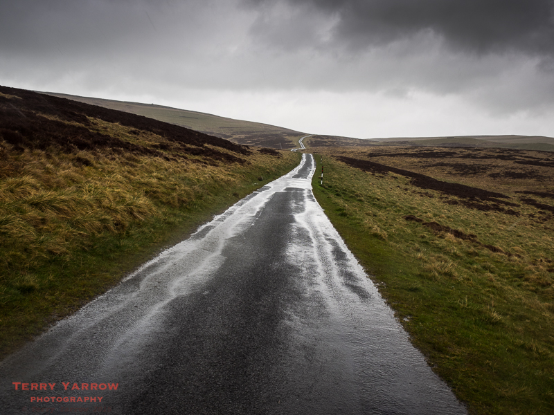 Long Lonely Road Across the Moor