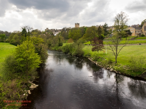 Richmond across the River Swale