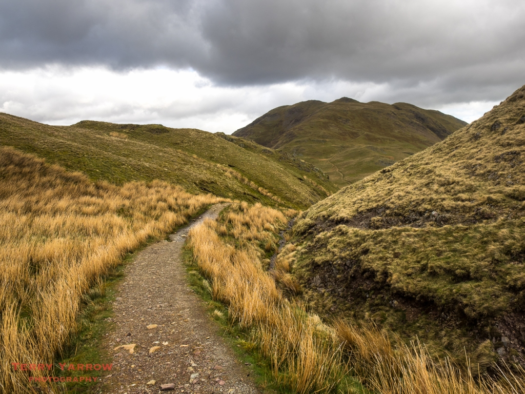 The path to Angle Tarn