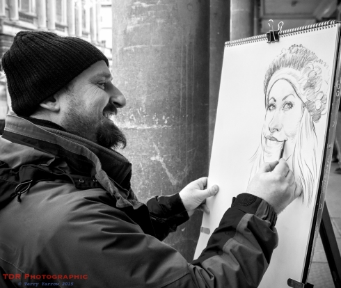 People at Work - The Street Artist