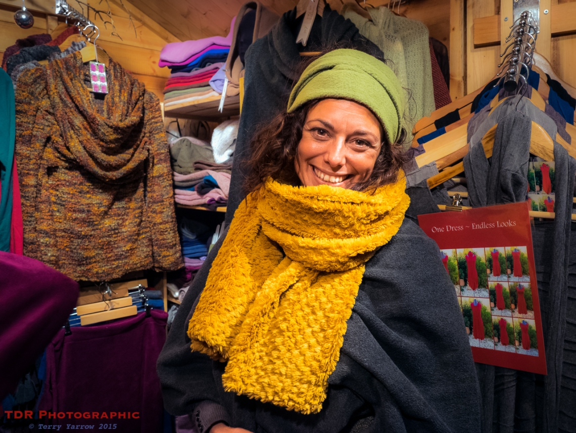 People at Work - The Knitwear Seller