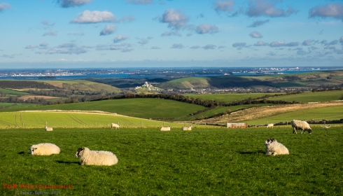 The Corfe Valley and Poole Harbour