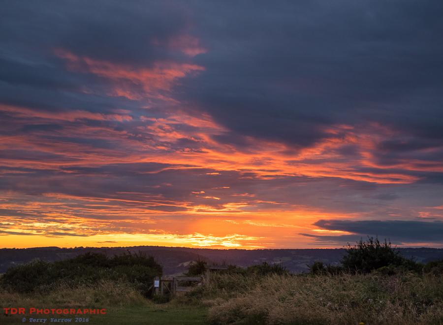 Stonebarrow Sunset