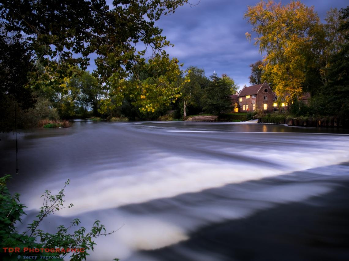 Beside the Weir