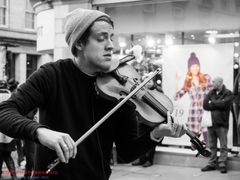 People at Work - The Violinist