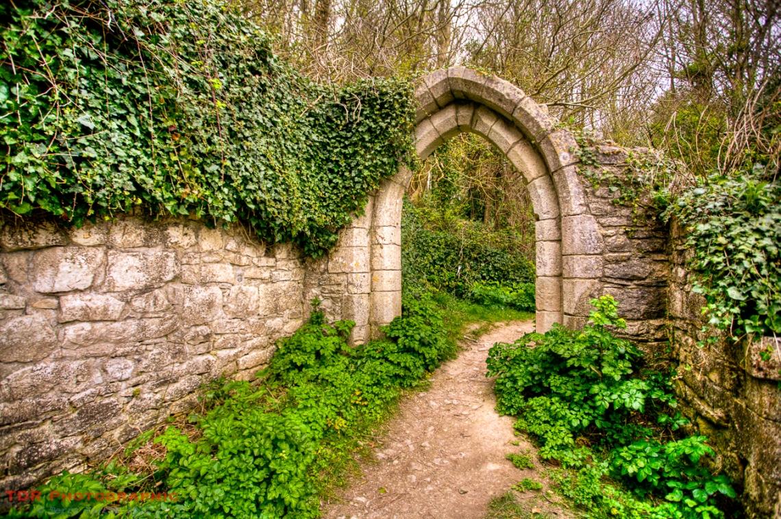 The doorway to nowhere!