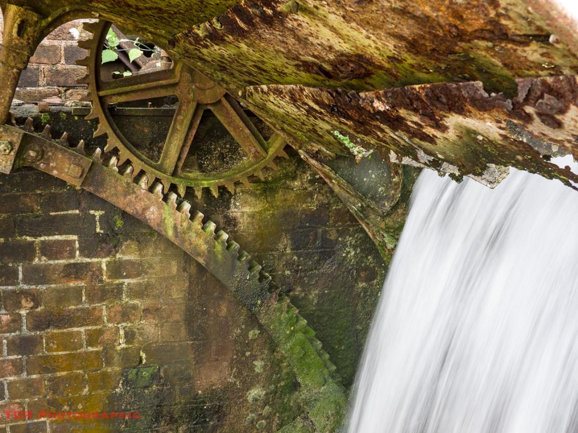 Inside the Water Wheel