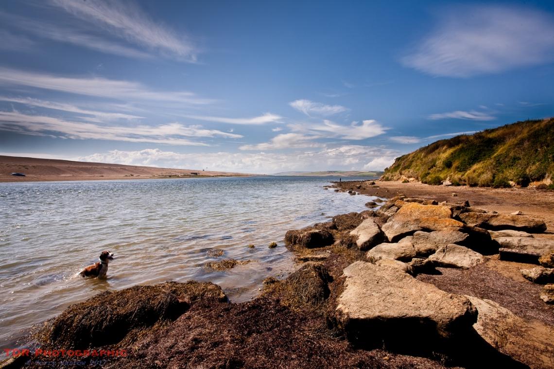 The Fleet shoreline