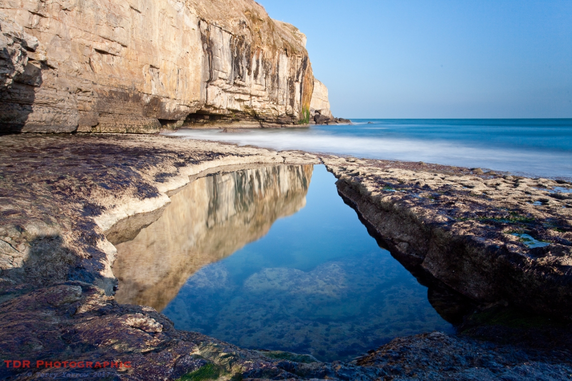 The swimming pool, Dancing Ledge