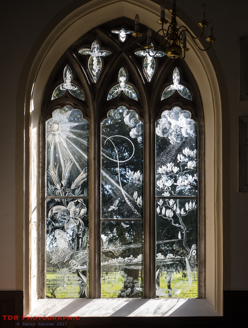 Engraved Window