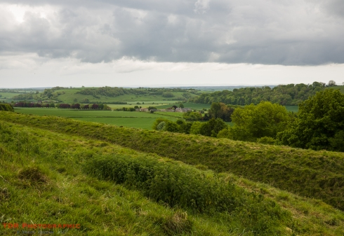 Higher Melcombe from the Ridge