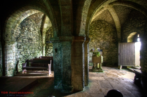 St Aldhelm's Chapel interior