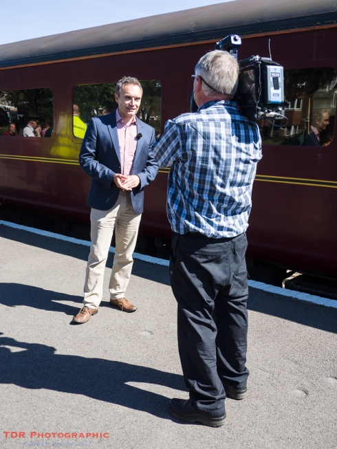 BBC at Swanage Railway