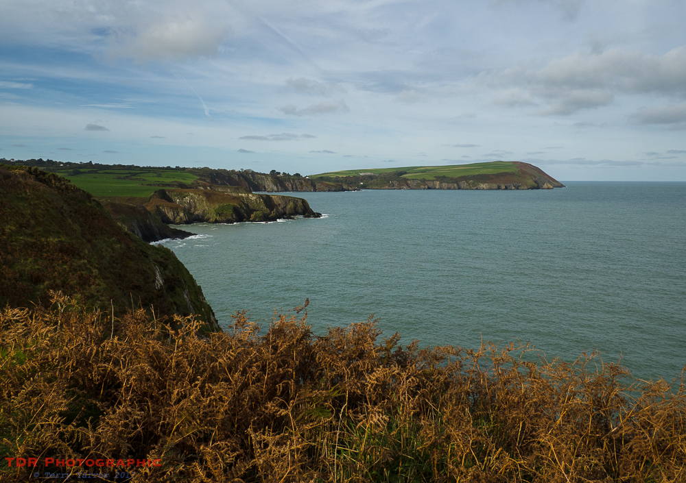 Towards Dinas Island