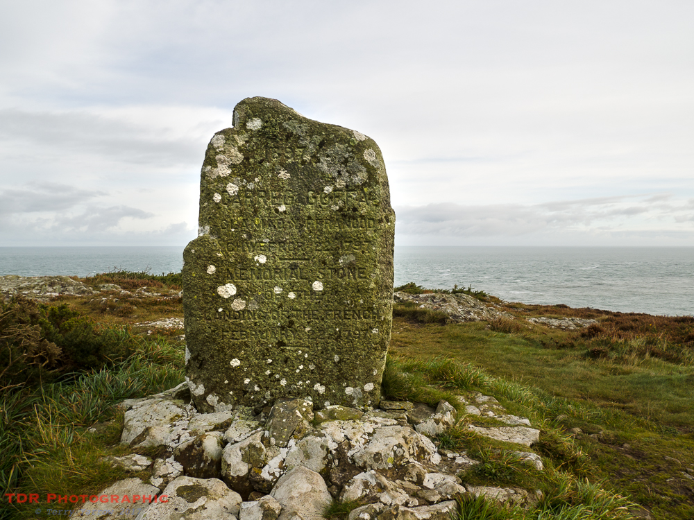 The Memorial Stone at Carreg Goffa