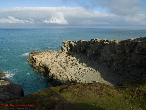 Porthgain Quarry Remains