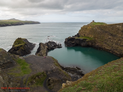 Abereiddi and Blue Pool