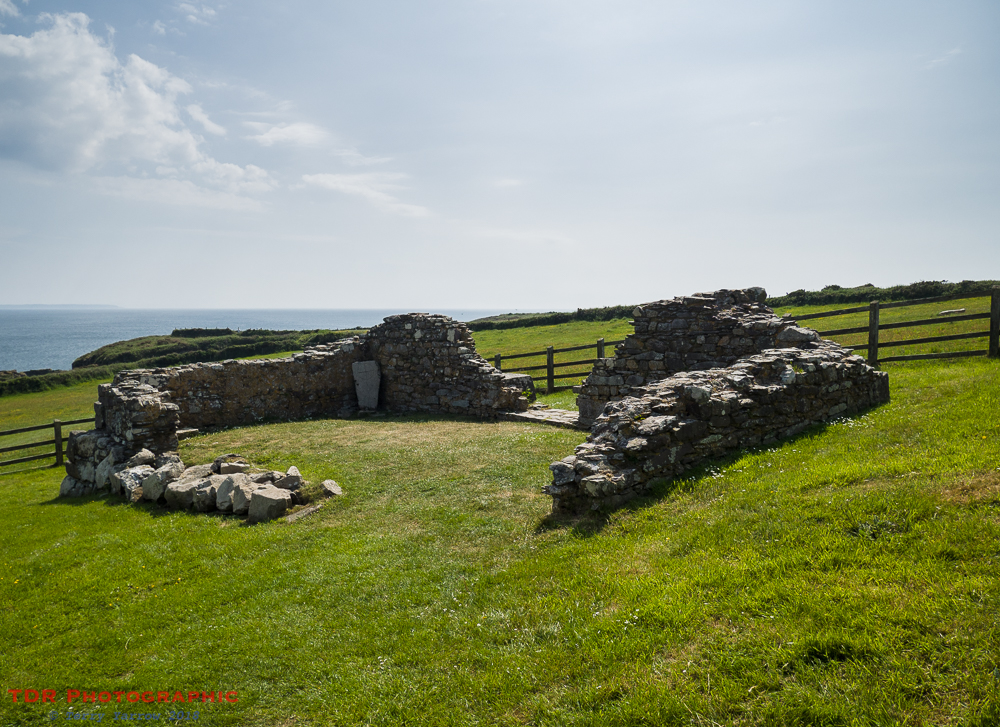 The Ruined St Non's Chapel