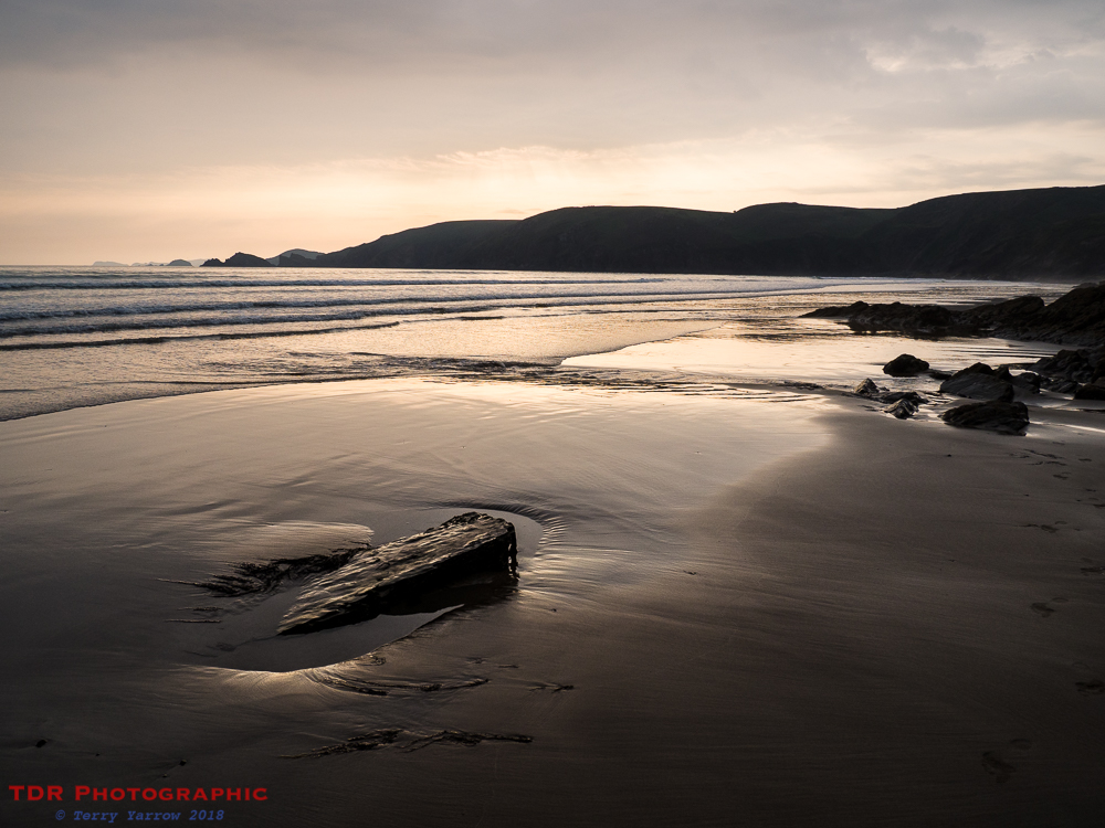 On Newgale Beach