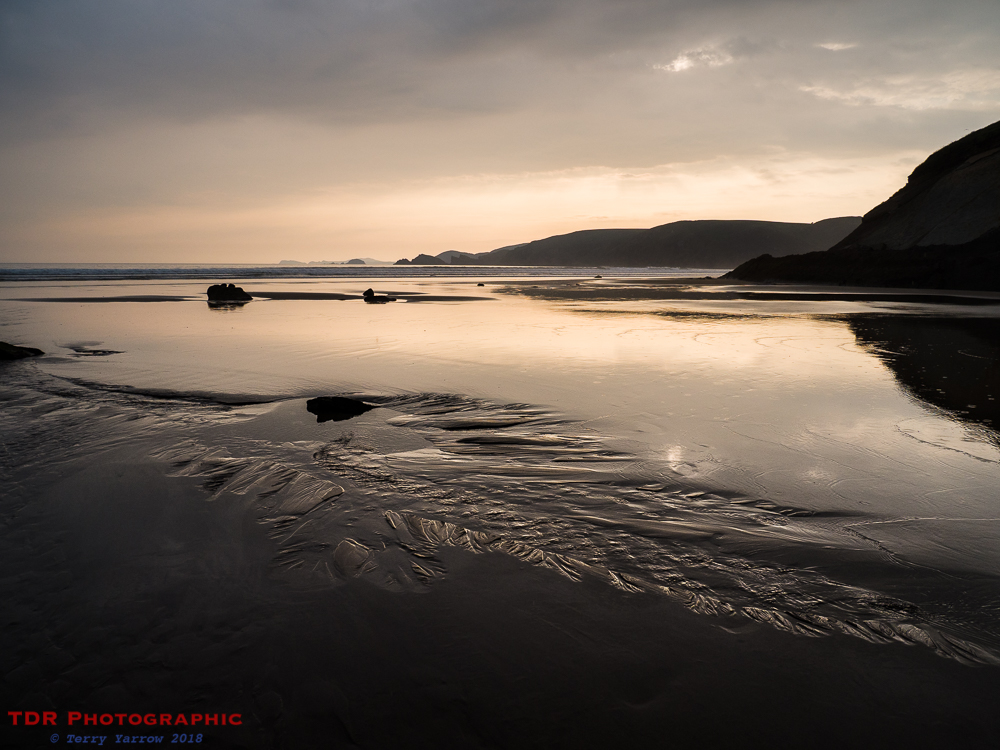 Newgale Beach at Dusk