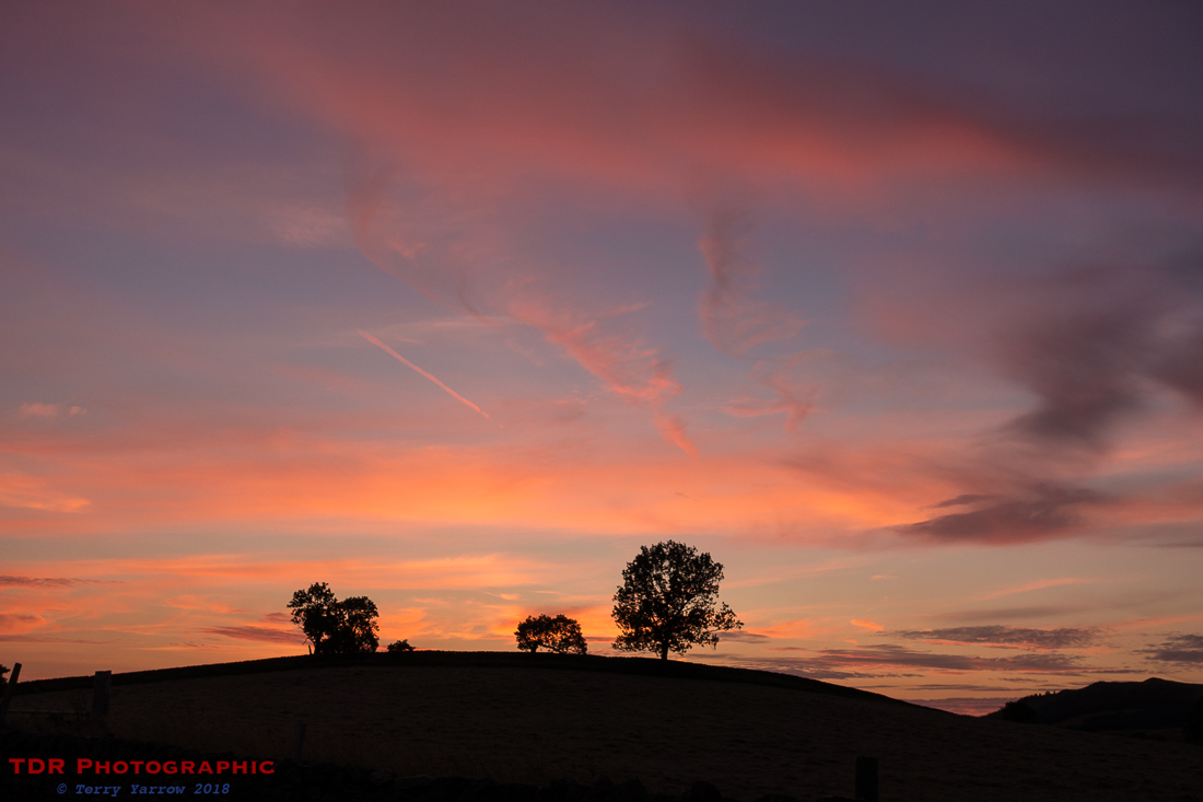 Skipton sunset