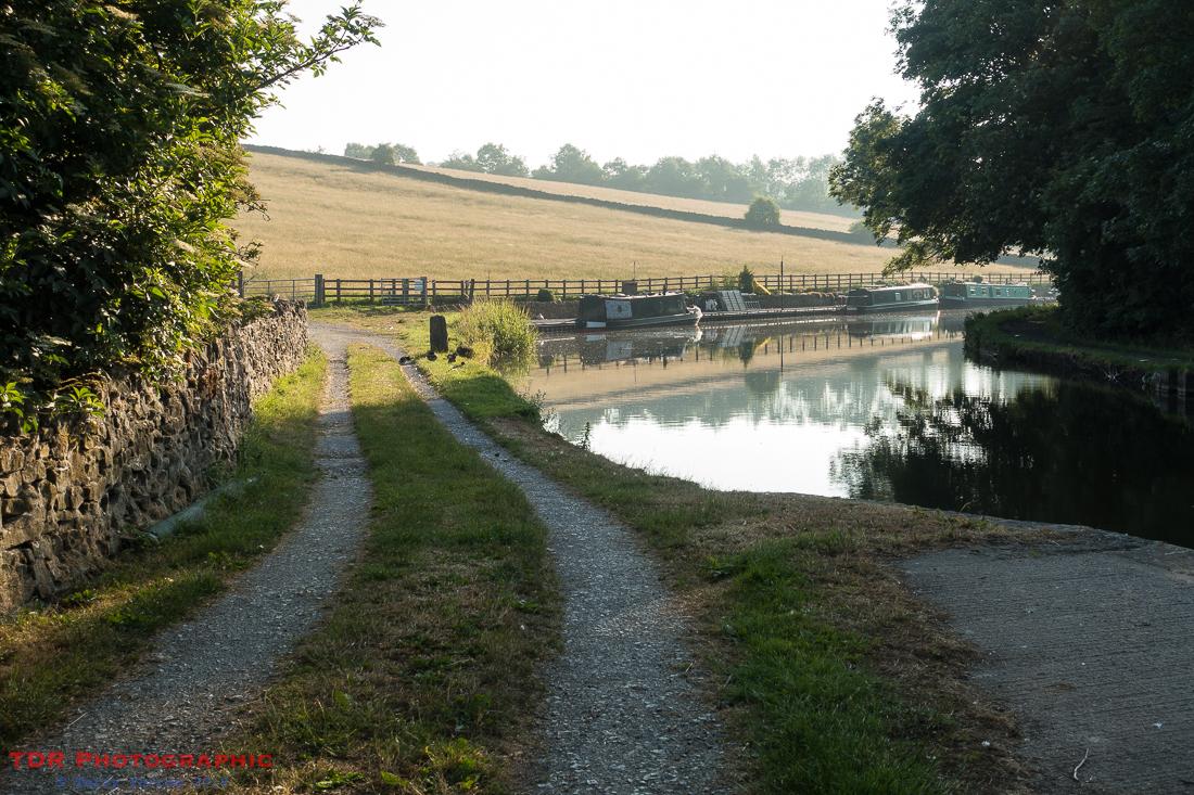 Along the canal at Skipton