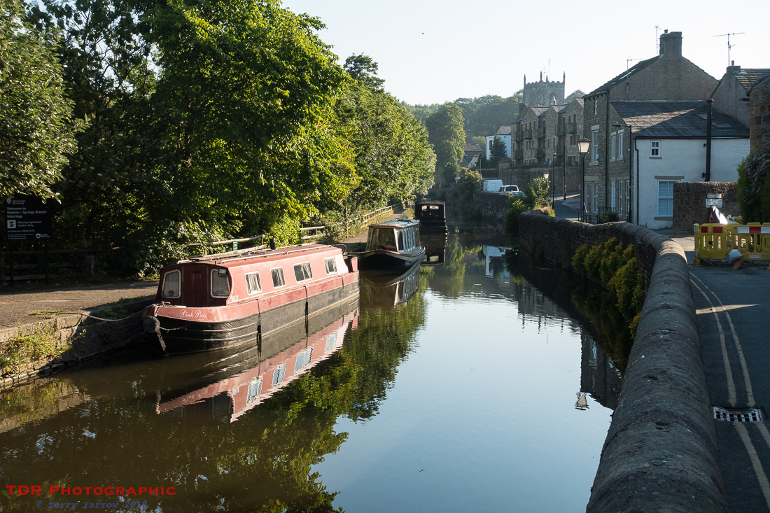 Beside the canal, Skipton