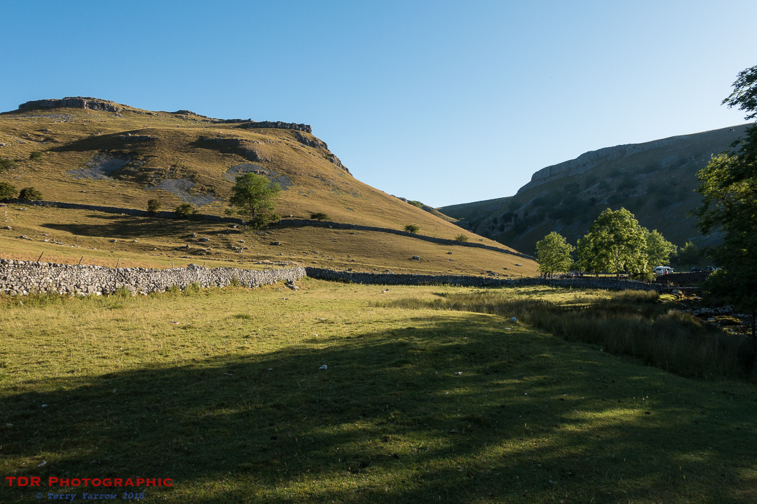 Leaving Gordale Scar