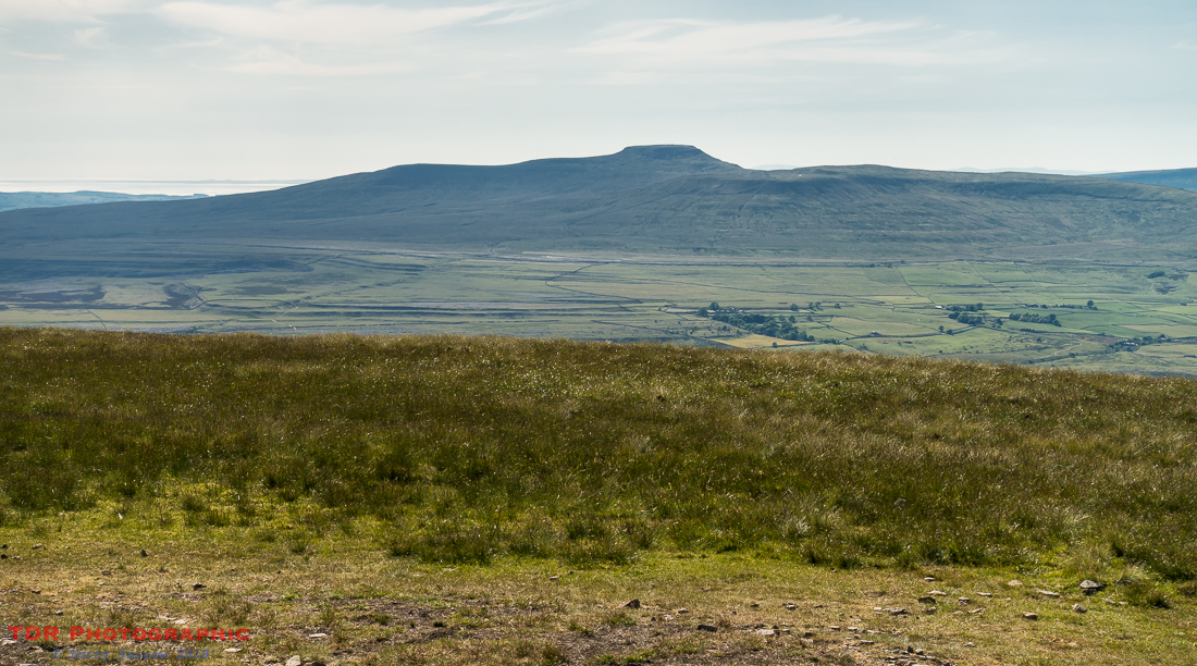 Ingleborough from Pen Y Ghent