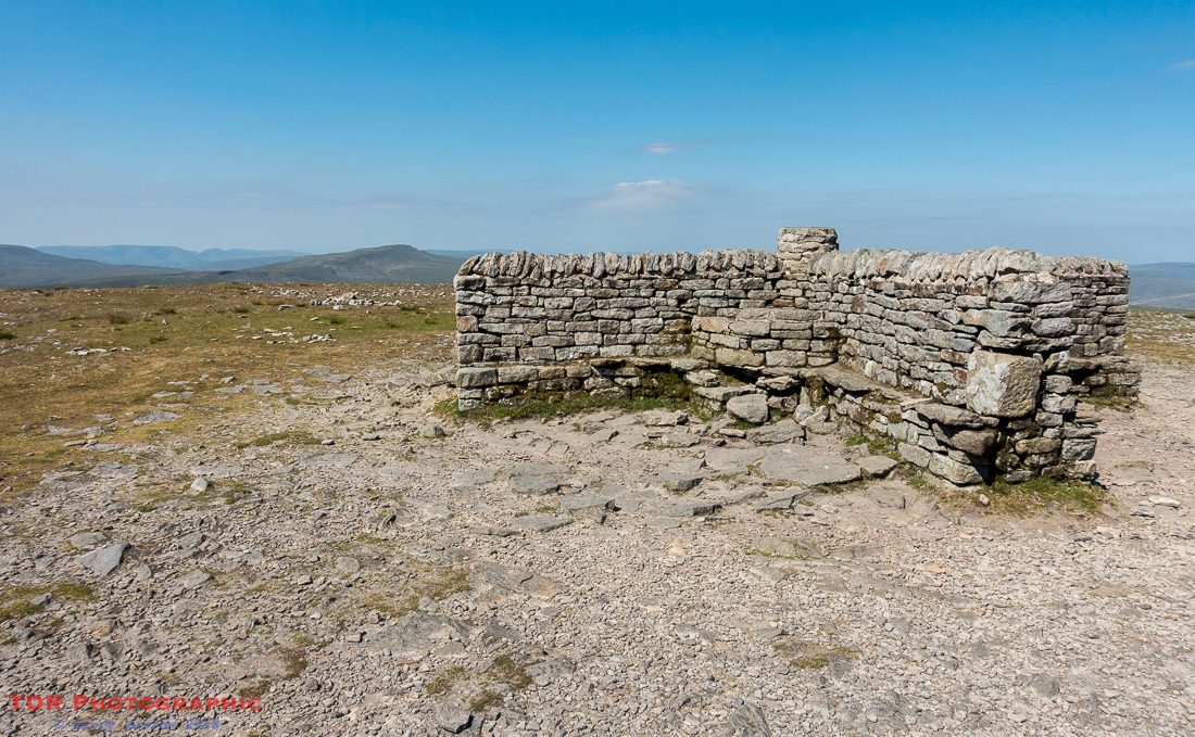The Ingleborough Summit