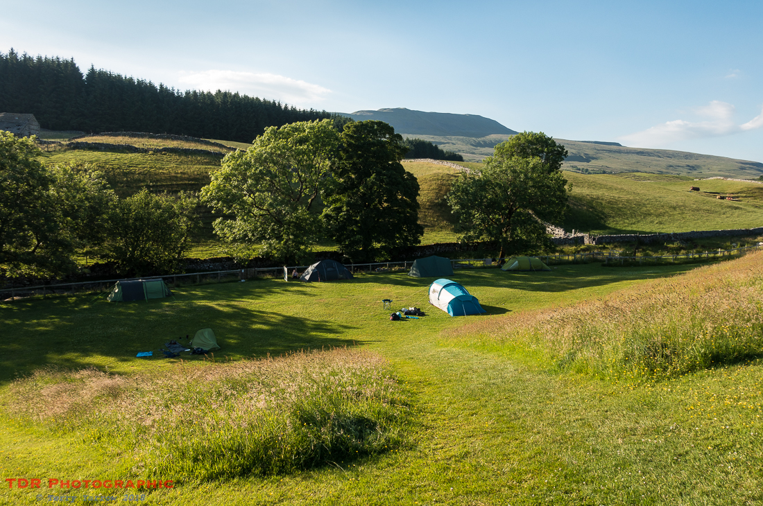 Campsite at Chapel Le Dale