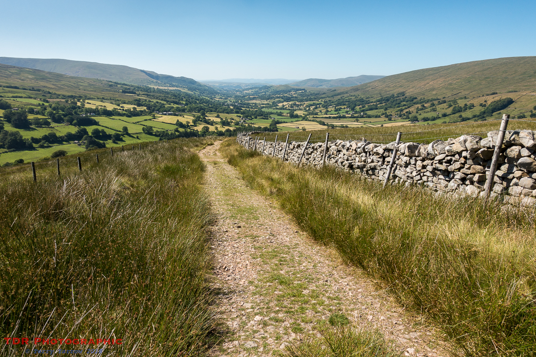 Dropping down into Dentdale