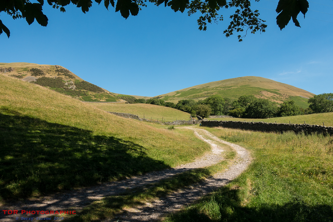 Heading for the Howgills