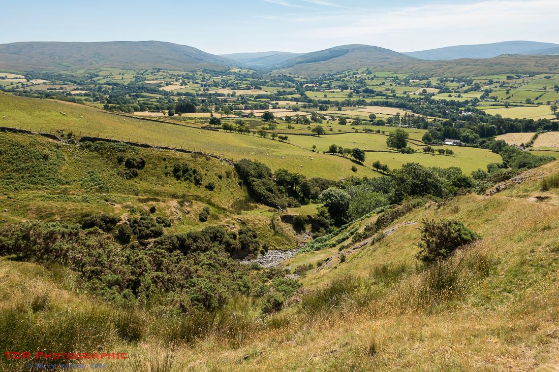 Climbing beside Settlebeck Gill