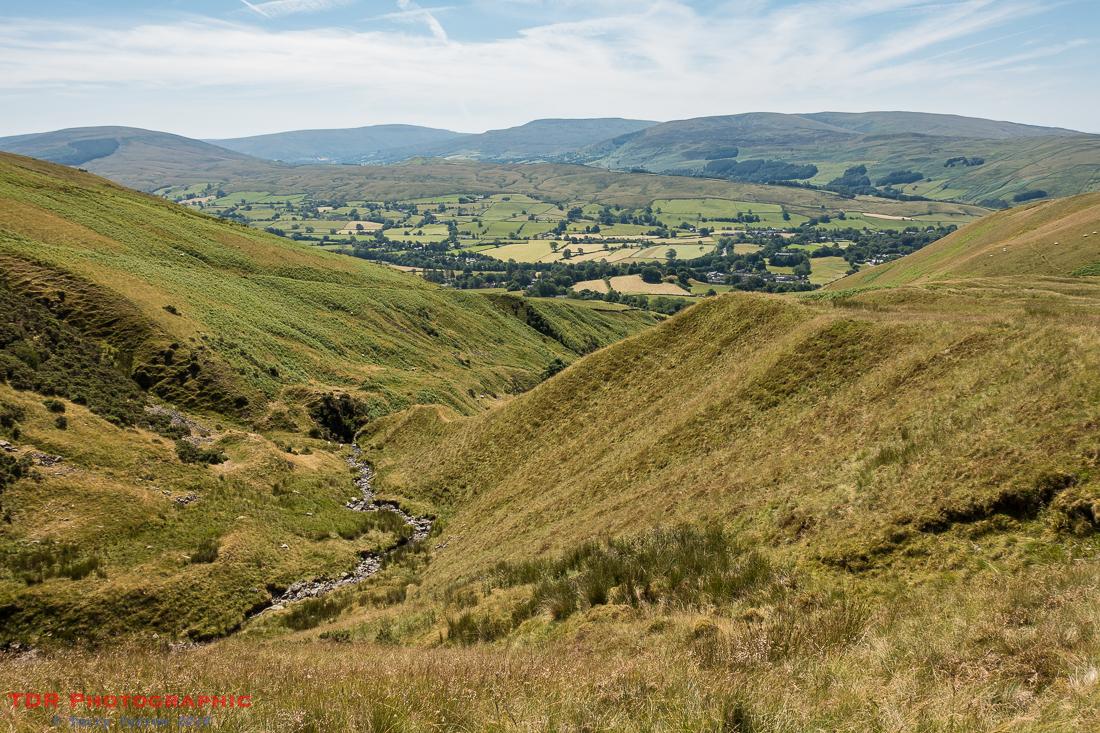 The upper reaches of Settlebeck Gill