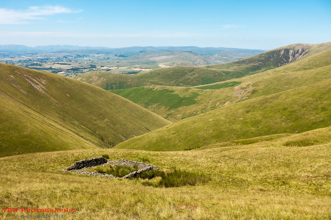 Rowantree Fold and Bram Rigg Beck, The Howgills