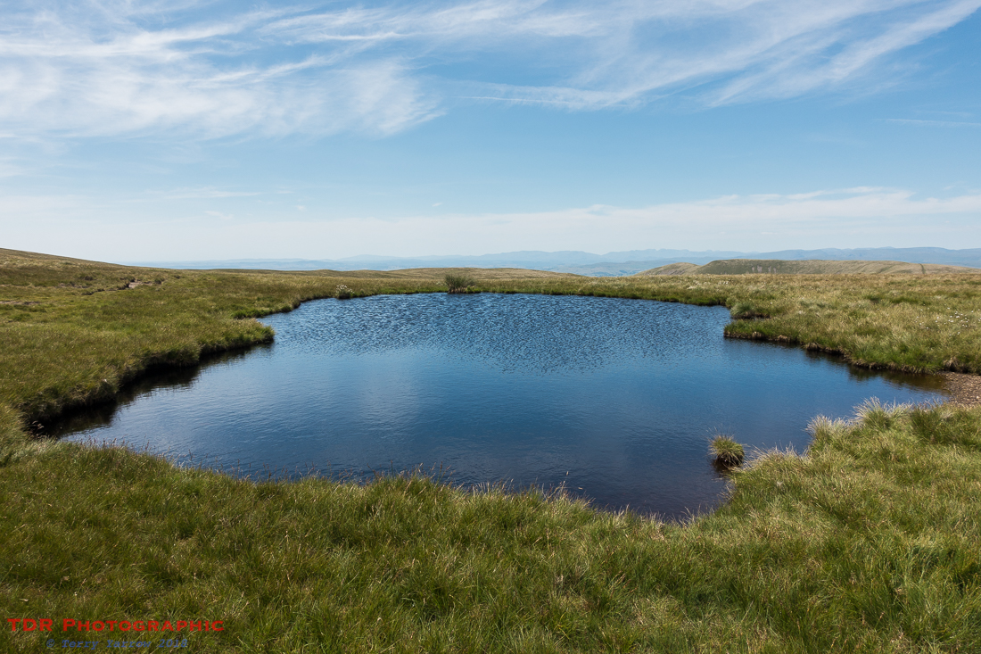 A fell top tarn,