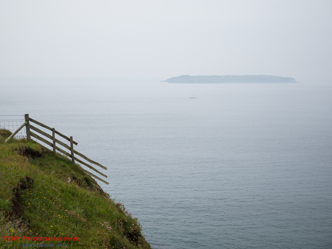 Island and Fence in the Mist