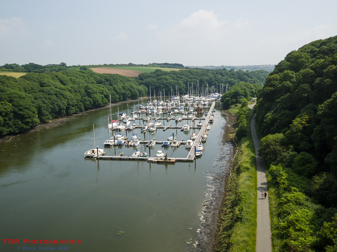 View from the Cleddau Bridge