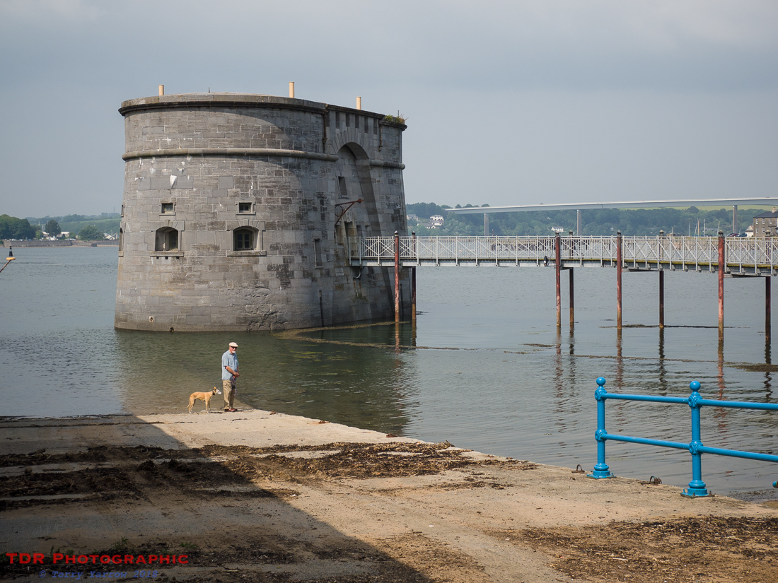 The Martello Tower at Pembroke Dock