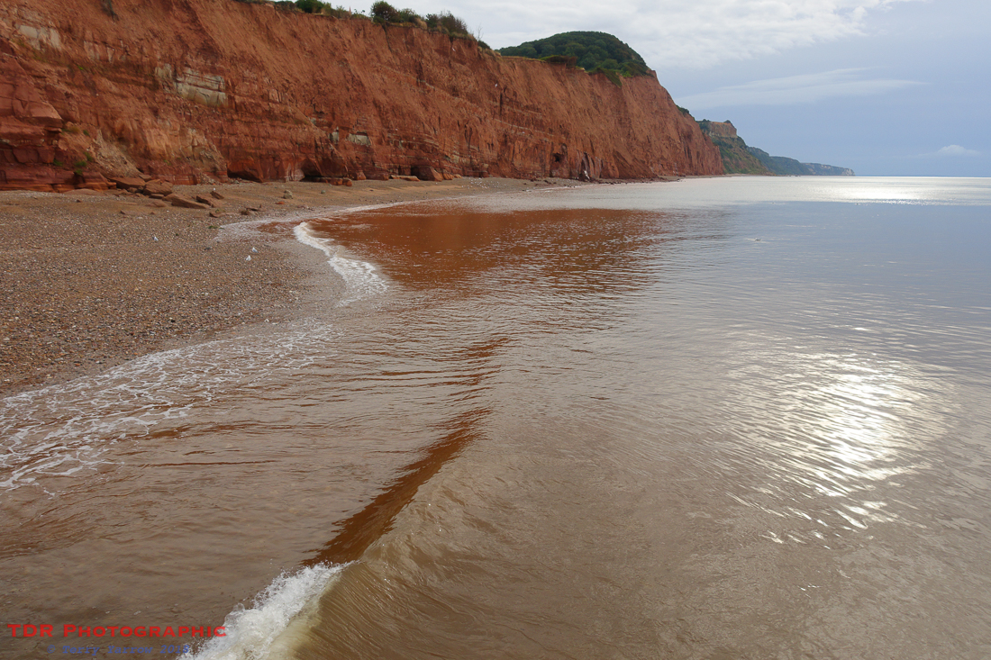 Red Cliffs at Sidmouth
