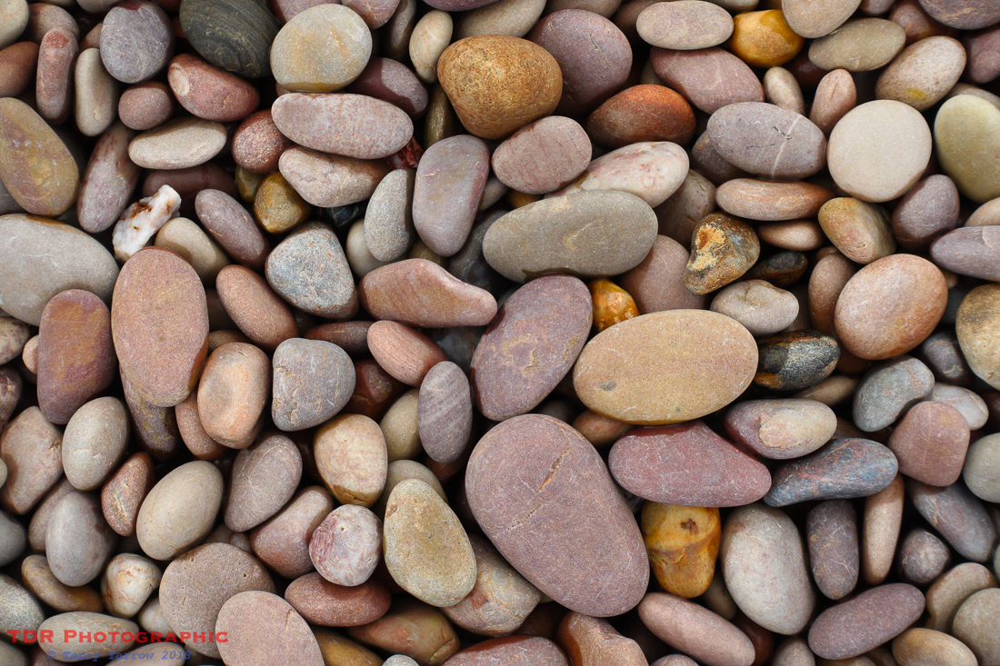 Multi-coloured Pebbles