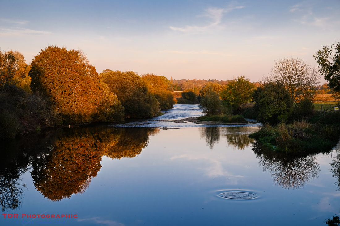 The River Stour at Sundown