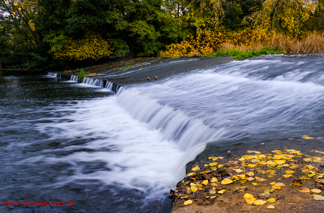 The Weir in Autumn