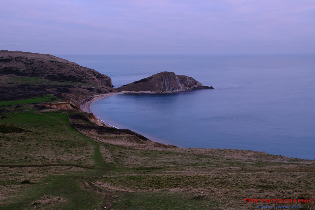 Above Worbarrow Bay