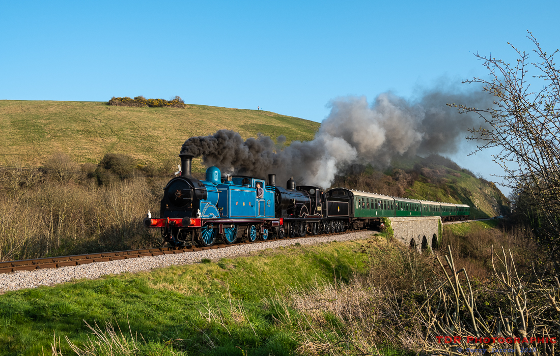 Double Headed on the Swanage Railway