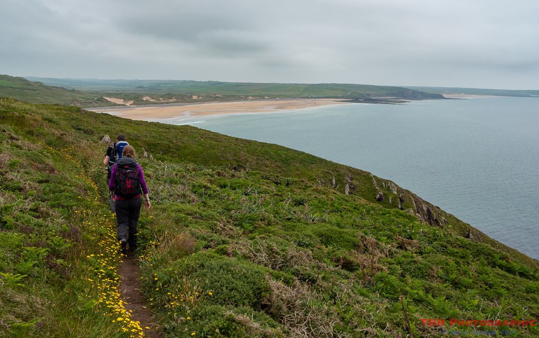 Approaching Freshwater West