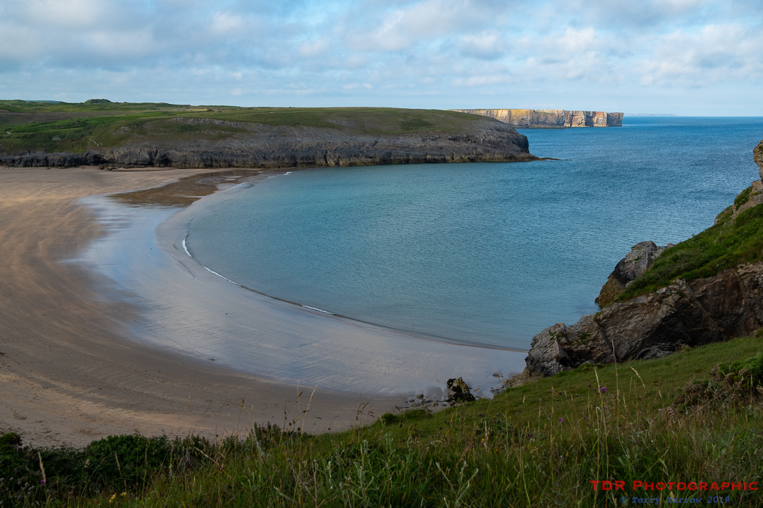 Evening at Broadhaven Beach