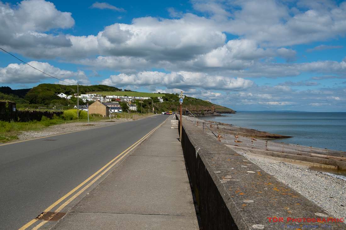 Arriving in Amroth